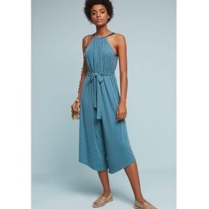 NWT Anthro HD in Paris Wide Leg Oversized Jumpsuit